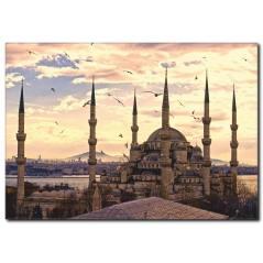 Yeni Cami Kanvas Tablo