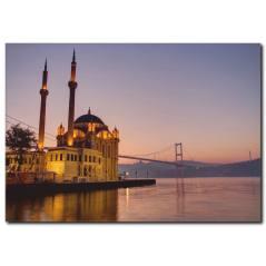 Ortaköy Cami Manzarası Kanvas Tablo