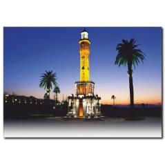 İzmir Saat Kulesi Kanvas Tablo