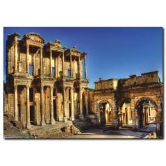 Efes Antik Kent Kanvas Tablo