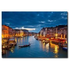 Venedik Temalı Kanvas Tablo