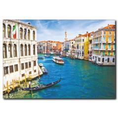 Venedik Keyfi Temalı Kanvas Tablo
