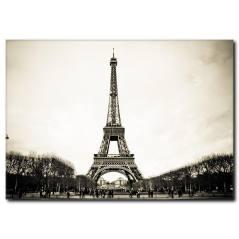 Paris Eyfel Kulesi Kanvas Tablo