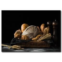 Ekmek Temalı Kanvas Tablo