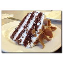 Çikolatalı Pasta Temalı Kanvas Tablo