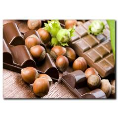 Sütlü Çikolata Temalı Kanvas Tablo