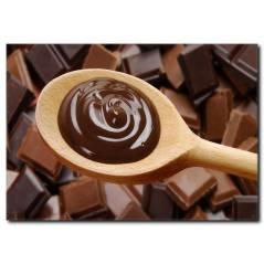 Çikolata Sevdası Temalı Kanvas Tablo