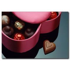 Çikolata Kutusu Temalı Kanvas Tablo