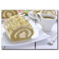 Rulo Pasta Temalı Kanvas Tablo