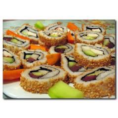 Sushi Lezzeti Temalı Kanvas Tablo