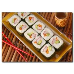 Sushi Keyfi Temalı Kanvas Tablo