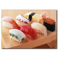 Sushi Lezzet Temalı Kanvas Tablo
