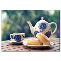 Beş Çayı Temalı Kanvas Tablo