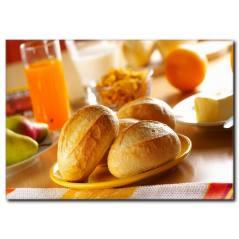 Somun Ekmek Detaylı Kanvas Tablo