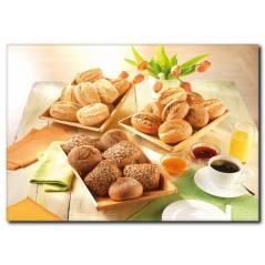 Ekmek Sepetleri Temalı Kanvas Tablo