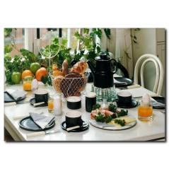 Kahvaltı Sofrası Temalı Kanvas Tablo