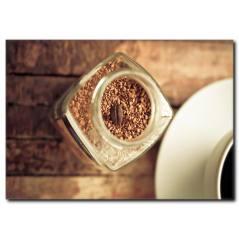 Kahve Tanecikleri Temalı Kanvas Tablo