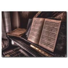 Chopin Detaylı Kanvas Tablo