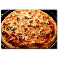 Etli Pizza Temalı Kanvas Tablo