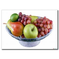 Meyve Tabağı Kanvas Tablo