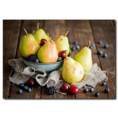 Tatlı Meyveler Temalı Kanvas Tablo