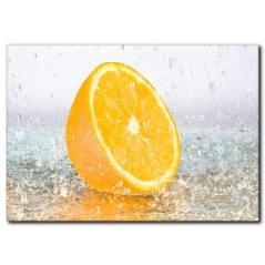 Sulu Limon Temalı Kanvas Tablo