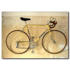 Bisiklet Sporu Kanvas Tablo