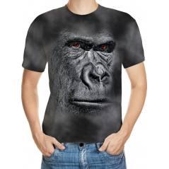 Goril Desenli 3D Tişört