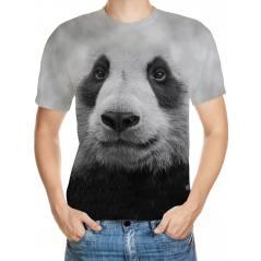 Panda Desenli 3D Tişört