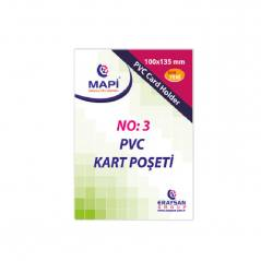 Mapi Pvc Kart Poseti No:3 Dikey 100 Adet 9101037