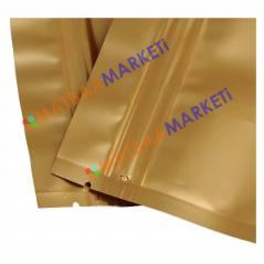 Gold Aluminyum Kilitli Doypack 20x30x5 Cm