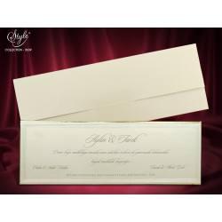 Style Lüks Düğün Kartı 3639