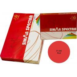 Kırmızı Renkli A4 Kağıt Sinarspectra 500 Sayfa IT-250