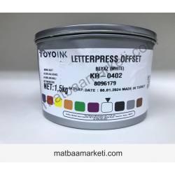 Dyo Karıştırıcı Beyaz 0402 Matbaa Mürekkebi - 1.5 Kg