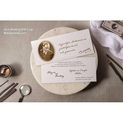 Wedding Davetiye 8290