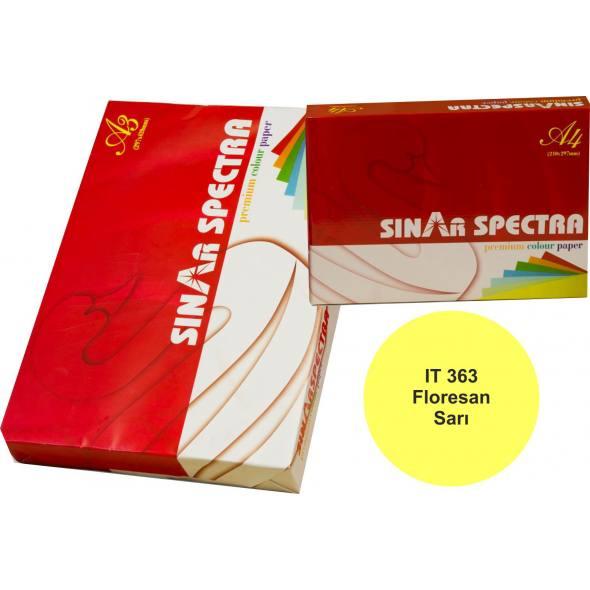 Floresan Sarı A4 Sinarspectra Kağıt 500 Yaprak IT-363